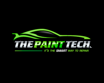 The Paint Tech logo design
