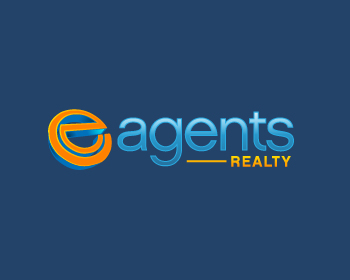 E Agents Realty logo design