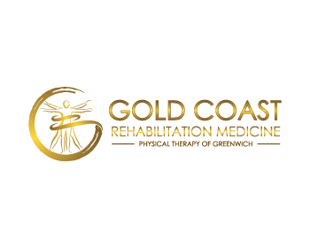 Gold Coast Rehabilitation Medicine or Gold Coast Rehab Med logo design