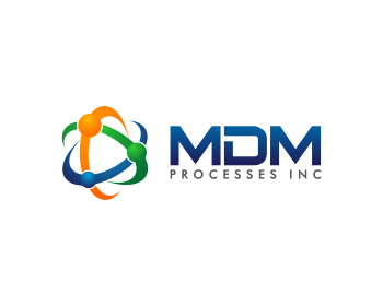 Logo design for MDMPROCESSES INC
