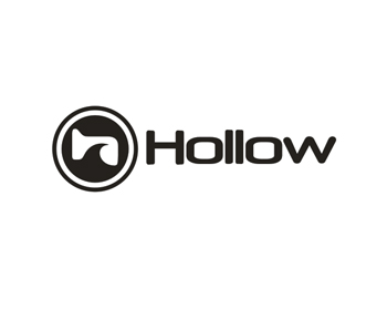 Hollow logo design