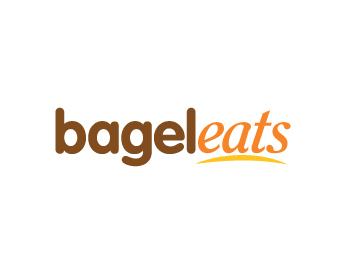Bagel Eats logo design