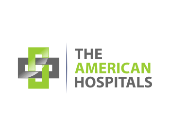 The American Hospitals logo design