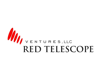 Red Telescope Ventures, LLC logo design