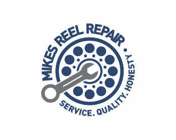 Mikes Reel Repair logo design