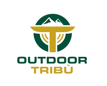 Outdoor Tribù logo design