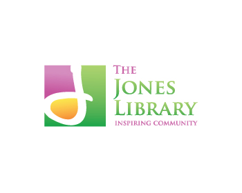 Logo design for The Jones Library, Inc.