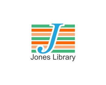 The Jones Library, Inc. logo design