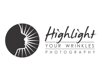 HIghlight Your Wrinkles photography logo design