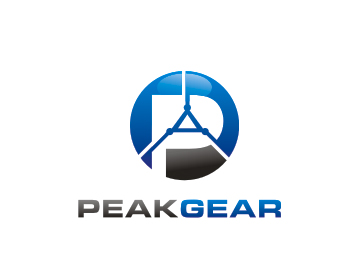 peak gear logo design