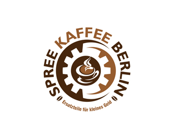 Spree-Kaffee-Berlin logo design