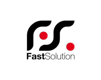 Technology logo design for FastSolution
