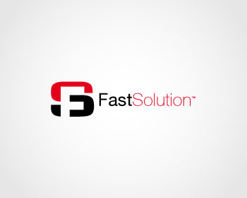FastSolution logo design