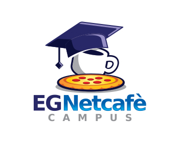 Logo design for EG Netcafè Campus