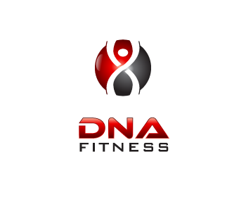 DNA Fitness logo design