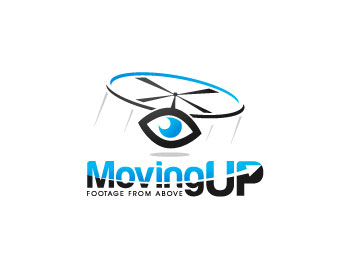 Moving-up logo design