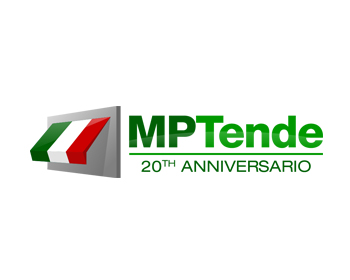 MP TENDE 20TH ANNIVERSARY logo design