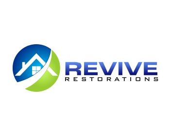 Revive Restorations logo design