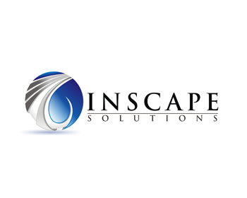 Inscape Solutions logo design