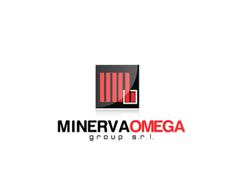 Minerva Omega group s.r.l. logo design