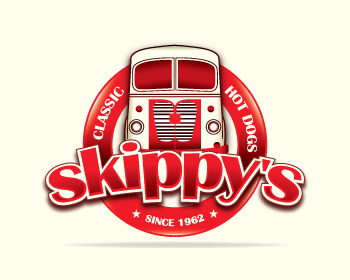 Logo design for Skippy's Classic Hot Dogs