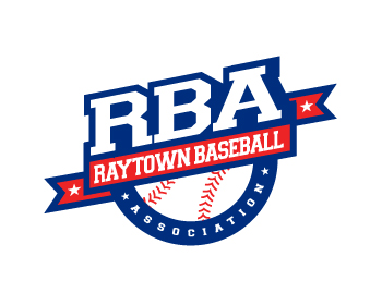 Raytown Baseball Association logo design