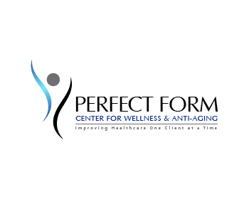 Perfect Form Center for Wellness & Anti-Aging logo design