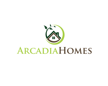 Logo Design Entry Number 55 By Rays Arcadia Homes Logo