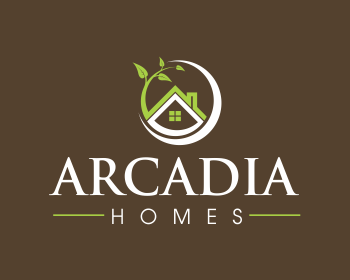 Logo design entry number 158 by rays arcadia homes logo for Arcadia builders