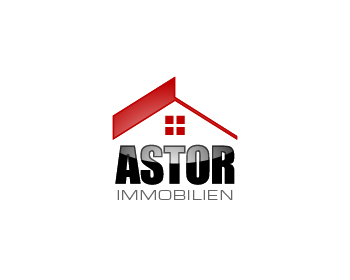 Astor Immobilien logo design