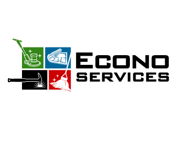 Econo Services logo design