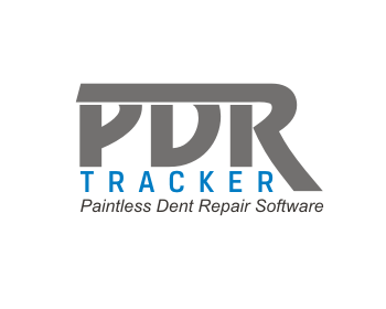 PDR Tracker logo design