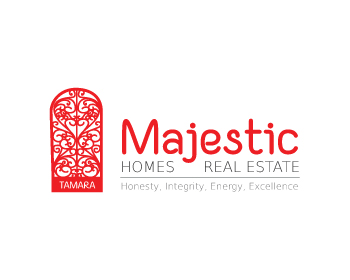 Majestic Home Sales logo design