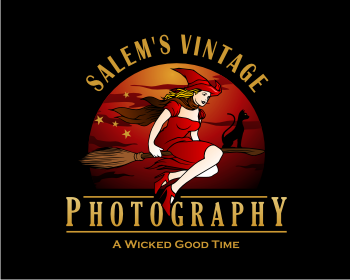 Salem's Vintage Photography logo design
