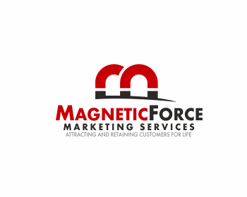 Magnetic Force Marketing Services logo design