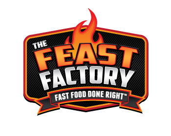 The Feast Factory logo design