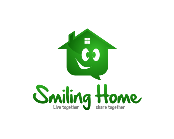 "Logo ""Smiling Home"" App"