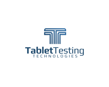 Education logo design for Tablet Testing Technologies (TTT)