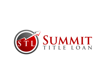Summit Title Loan logo design
