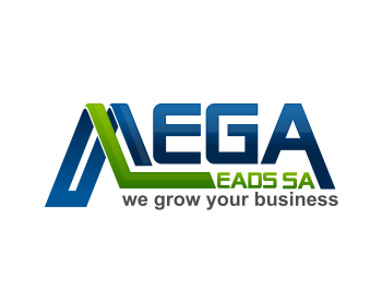 Mega Leads SA logo design