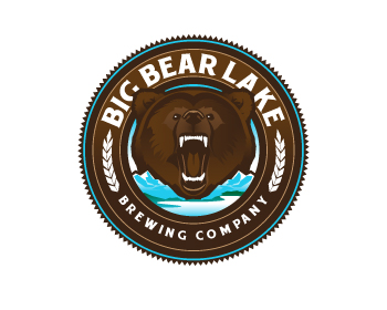 Big Bear Lake Brewing Company logo design