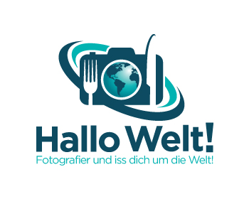 Hallo Welt! logo design