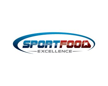 Sport Food Excellence logo design