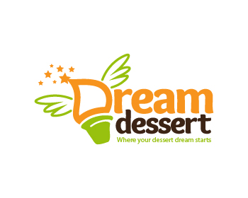 Dream Dessert logo design