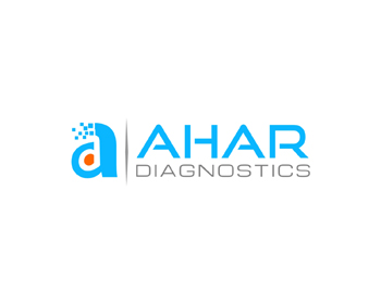 AHAR Diagnostics logo design