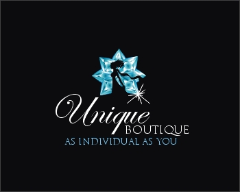 Logo design for Unique Boutique