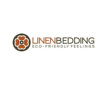 Linen bedding logo design