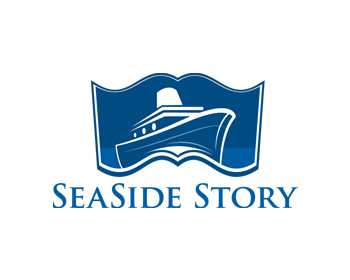 Sea Side Story logo design