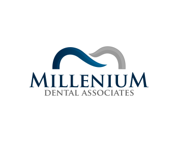 Millenium Dental Associates logo design