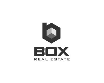 Box Real Estate logo design